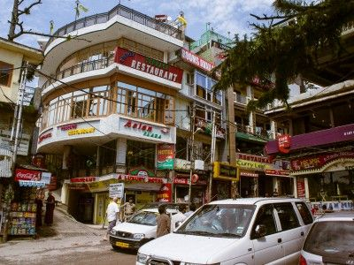 Commercial Centre in Dharamsala, India #india #himachal #tibet #travel #culture #Kamalan