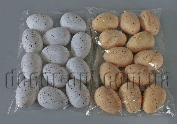 Яйца пластиковые 5.0 см/12 шт 998E-005-1