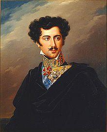 Oskar I. ( Zweedse en Oscar I. , geboren François Joseph Oscar Bernadotte ; * 4 juli [1] in 1799 in Parijs , † 8 juli 1859 in Stockholm ) was 1844-1859 Koning van Zweden en Noorwegen . http://de.wikipedia.org/wiki/Oskar_I._(Schweden)