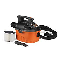 15 Litre (4 Gal.) 5 Peak HP Portable Wet Dry Vacuum