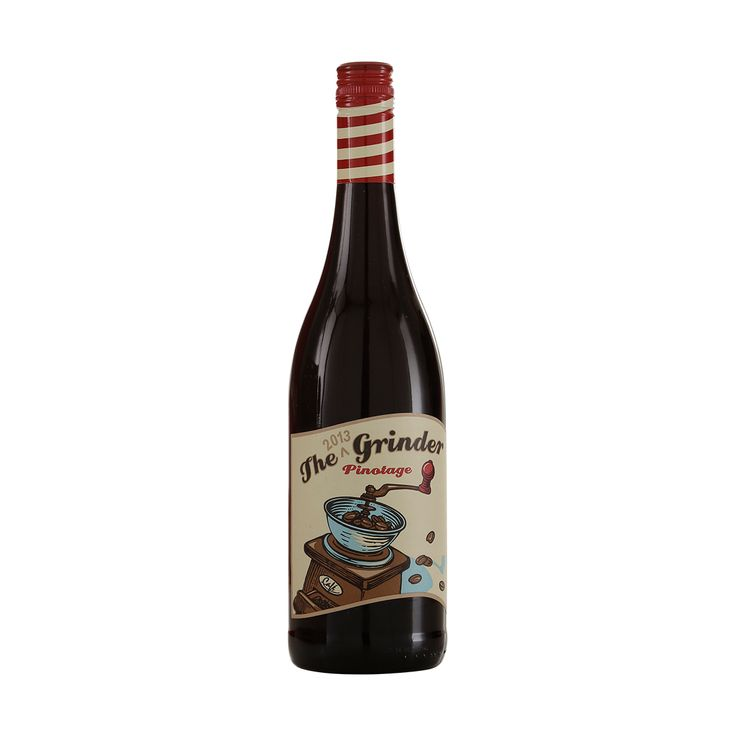 The Grinder Pinoitage 2013 http://www.flaskeposten.dk/product/the-grape-grinder-pinotage-2013/