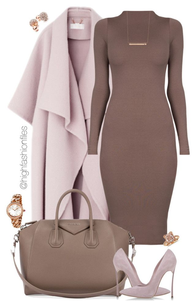 """Delicate"" by highfashionfiles on Polyvore featuring Givenchy, Casadei, Bulgari, Blue Nile, GUESS and Monique Péan"