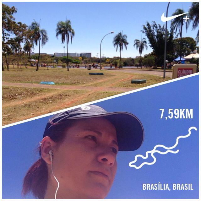8 km em Brasília