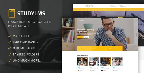 Studylms - Education LMS & Courses PSD Template - Business Corporate Download here : https://themeforest.net/item/studylms-education-lms-courses-psd-template/19835721?s_rank=245&ref=Al-fatih