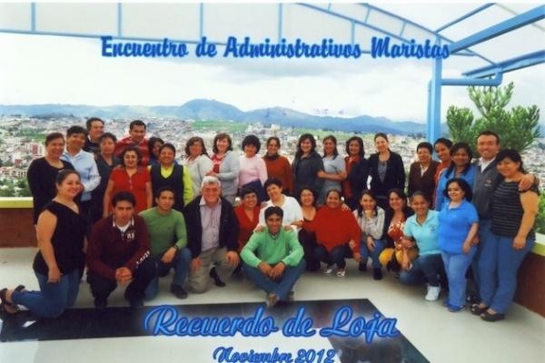 Ecuador: Encuentro nacional de personal administrativo de las obras maristas