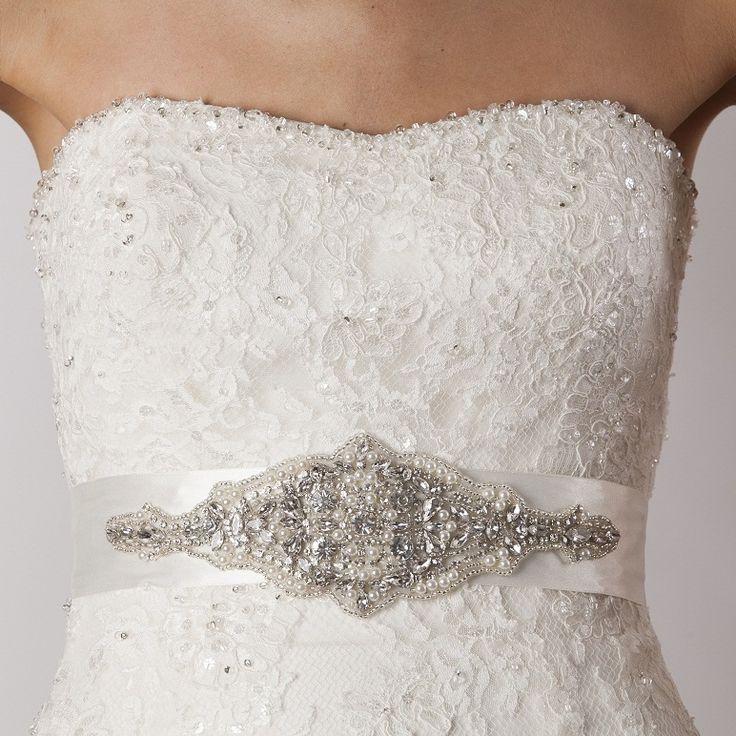 Amy Bridal Sash, £95.00 - Crystal Bridal Accessories