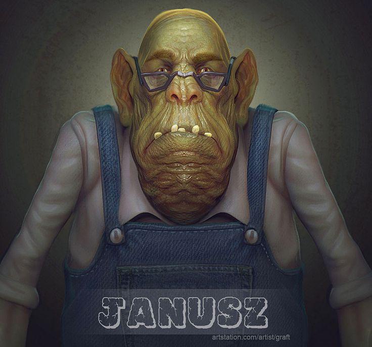 ArtStation - Janusz, Brain Graft