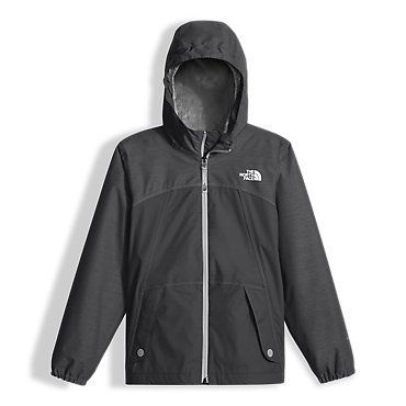 The North Face Girls' Warm Storm Hooded Rain Fleece Jacket: Kids