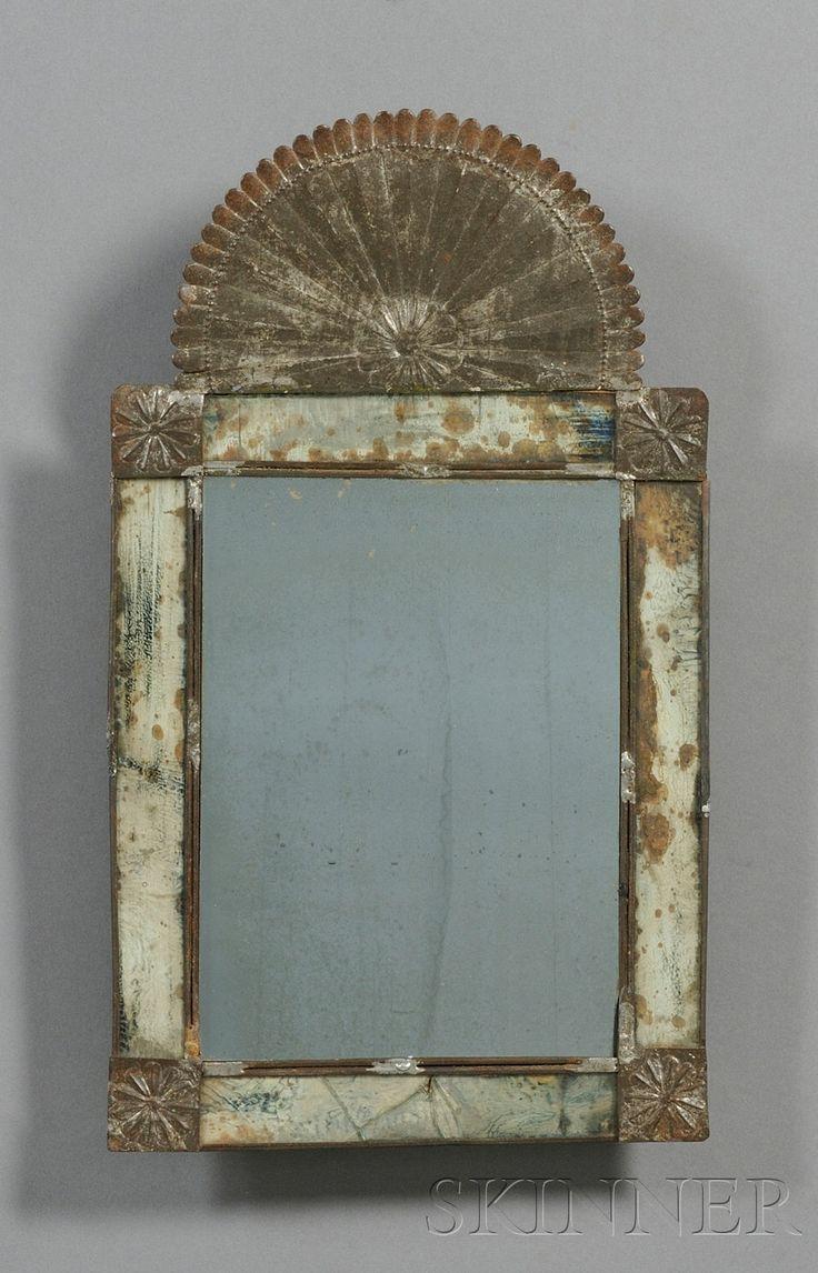 Primitive Old Rusty & Chippy Mirror...