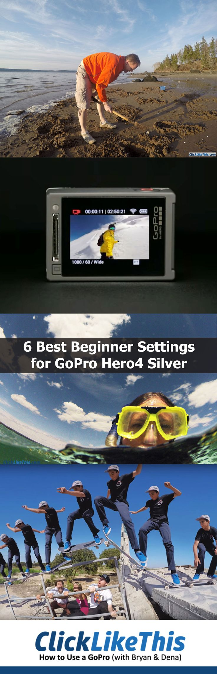 6 Best GoPro Hero4 Silver Settings for Beginners [Video]