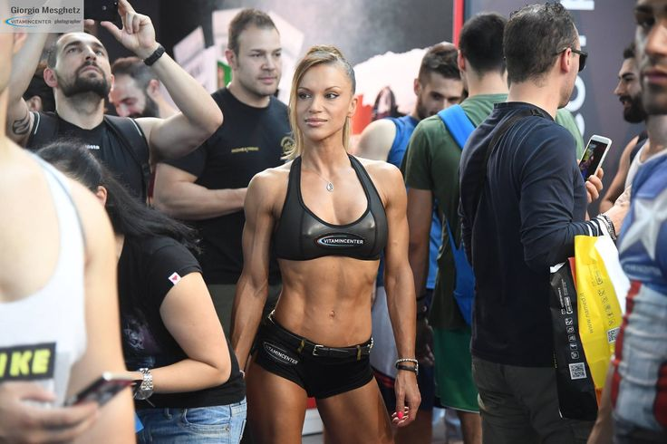 Anna Tapu #teamVitaminCenter #RW16 #riminiwellness #fitness #bodybuilding #italia
