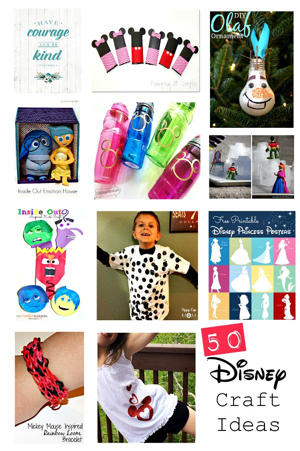 Disney Crafts and Parties