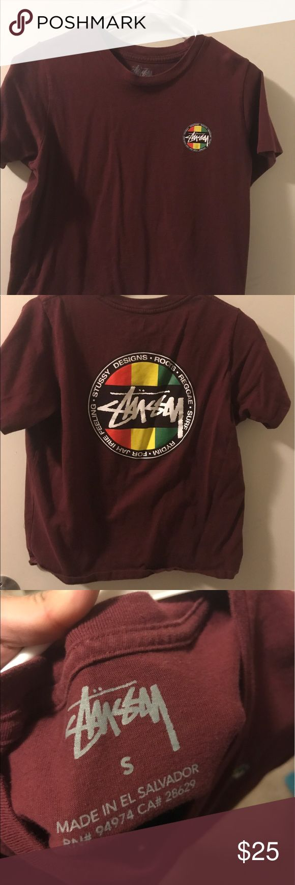 Rasca Stussy Skate Shirt I am selling this cool Rasca Stussy shirt! Didn't like how it fit on me, so that's why I am selling it. Stussy Tops Tees - Short Sleeve