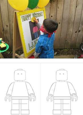 День рождения ребёнка в стиле Лего