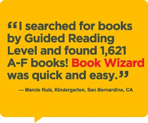 This scholastic site will let you search by title and, for most books, tell you the guided reading level. Perfect for when you buy books at Goodwill and have no clue what level they are.