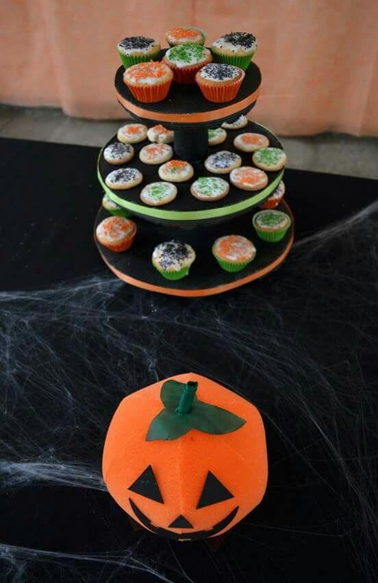 #cupcake #calabaza #Halloween