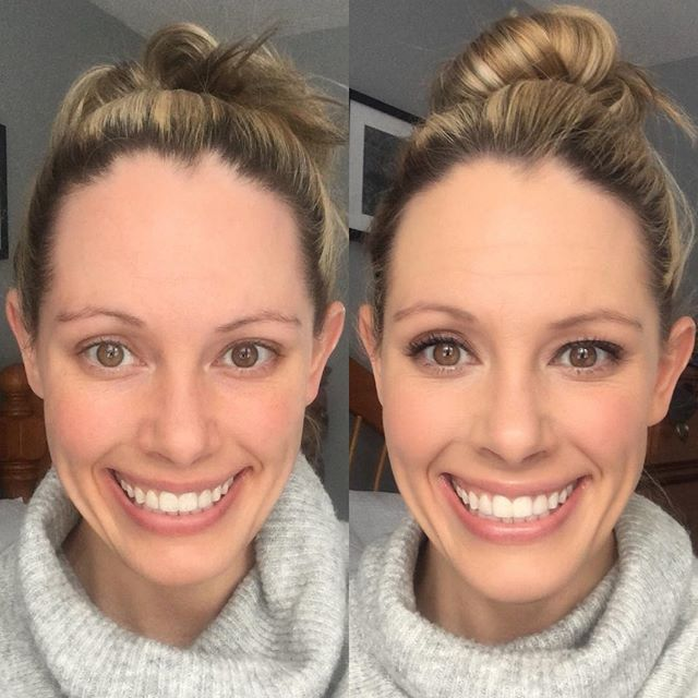 It Cosmetics Gives You The Perfect Natural No Makeup Look This Before And After Look Features Bye Bye Foundat Without Makeup Natural Looks Bye Bye Foundation
