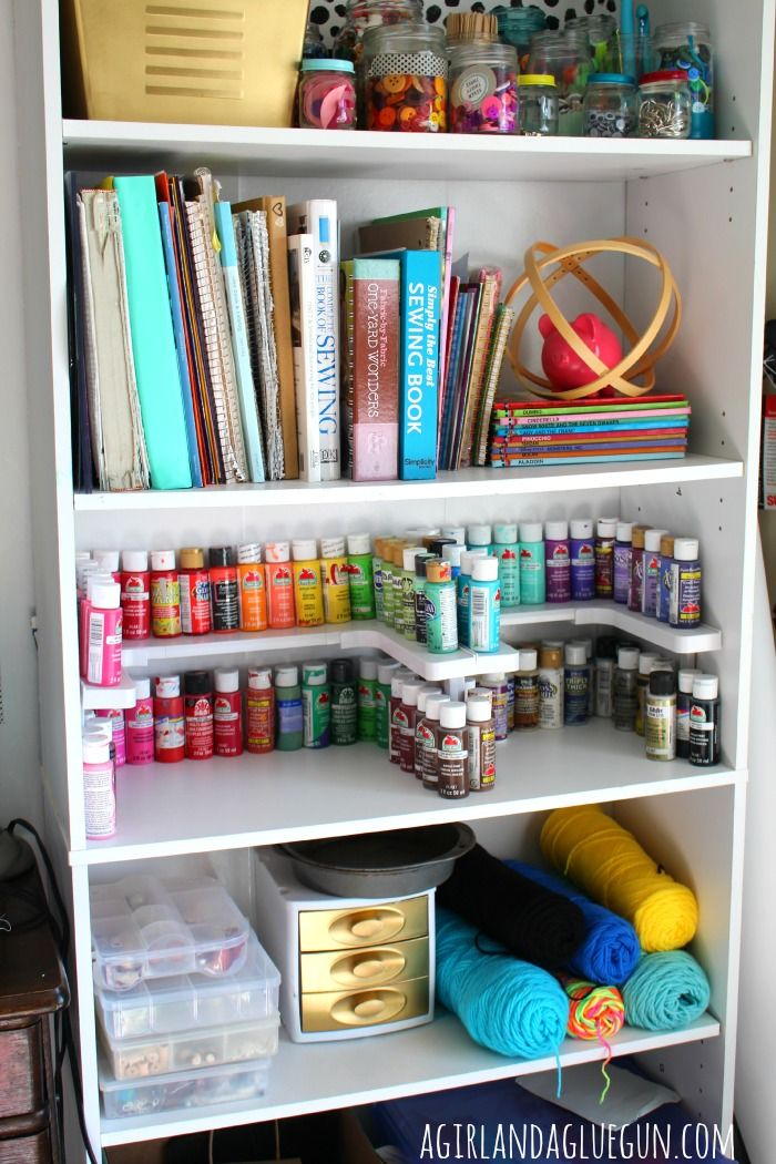 Spicy shelf blogger love a collection of ideas to try about products kitchen cabinet - Storage ideas for small office spaces paint ...