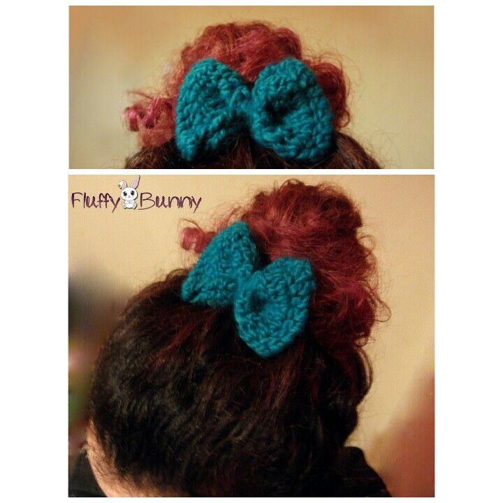 Cute clip-on hair bow!
