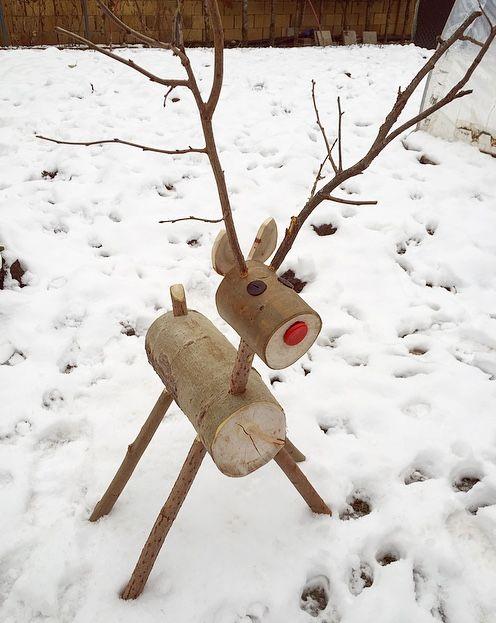 wood Rudolf 🦌