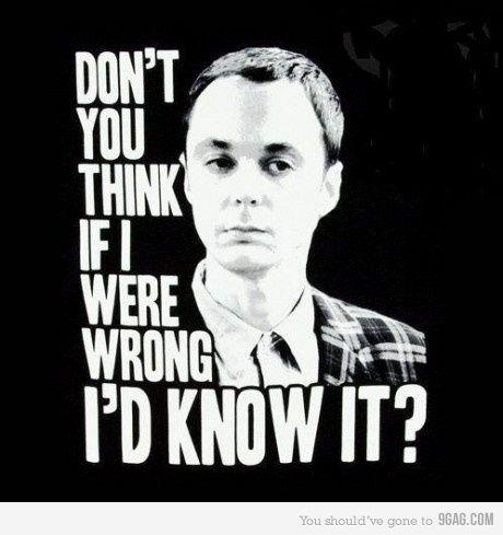 Sheldon knows