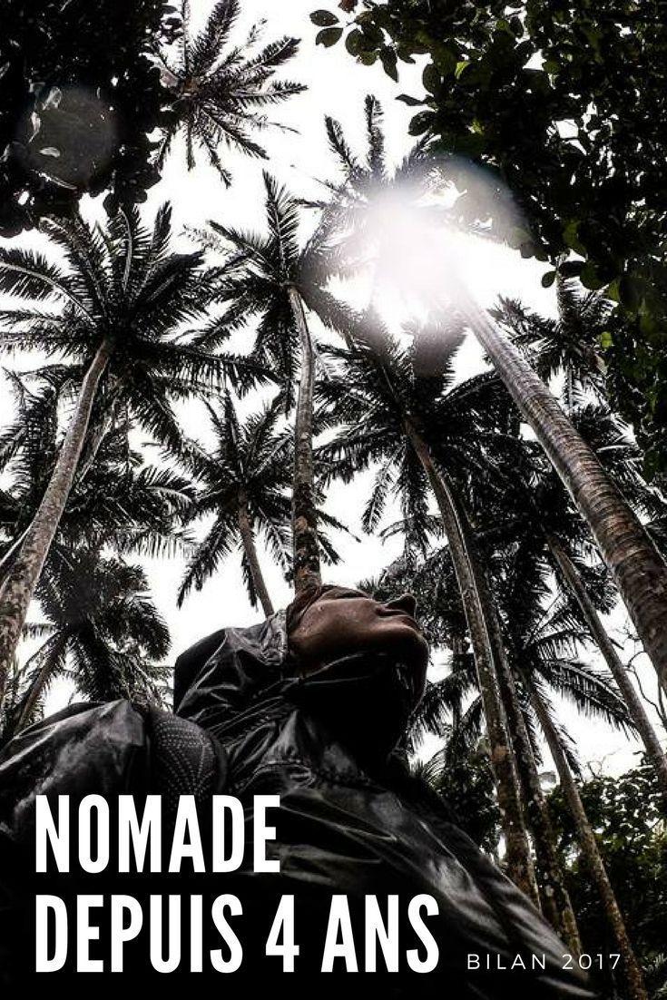 Je suis nomade depuis 4 ans. Bilan voyage 2017 et bilan de 4 années de nomadisme. Un bilan en demi-teinte après 4 ans sur les routes du monde. Pas facile de trouver son équilibre entre travail, voyage, vie nomade, vie sociale, famille, hobbys, etc. Une année à la découverte de seulement six pays et seulement deux nouveaux! J'ai enfin adopté le slow travel !#voyage#bilan#bilan2017#2018#vienomade#nomadisme#nomade#nomadedigital#slowtravel#