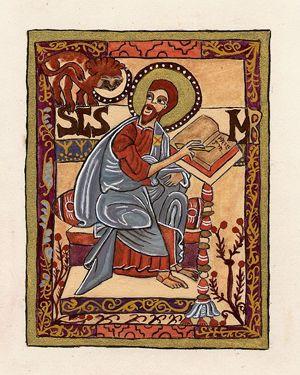 18 de junio: San Marcos, evangelista y mártir.