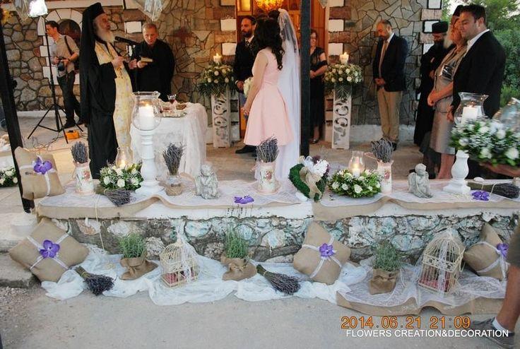 Γάμος :: στολισμός γάμου vintage :: γάμος vintage -