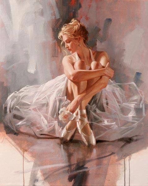 балерина - Схемы вышивки - оллля - Авторы - Портал «Вышивка крестом»