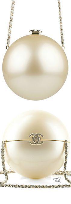 #Chanel pearl shape bag #Luxurydotcom
