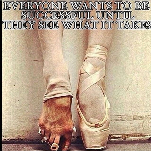 Dancers are the true athletes