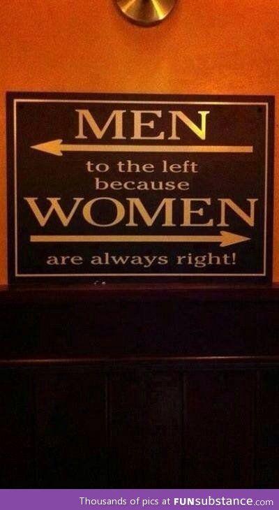 A restroom fact