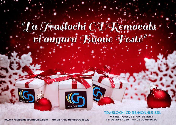 Tantissimi auguri di Buone Feste dalla Traslochi CD Removals!!! :)