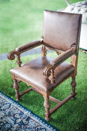 Cream Throne Chair from APlace