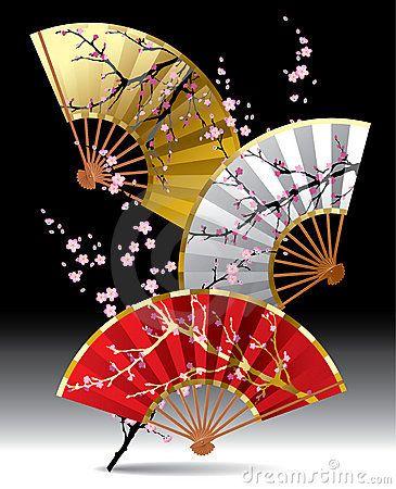 Japanese paper folding fans, Sensu 扇子