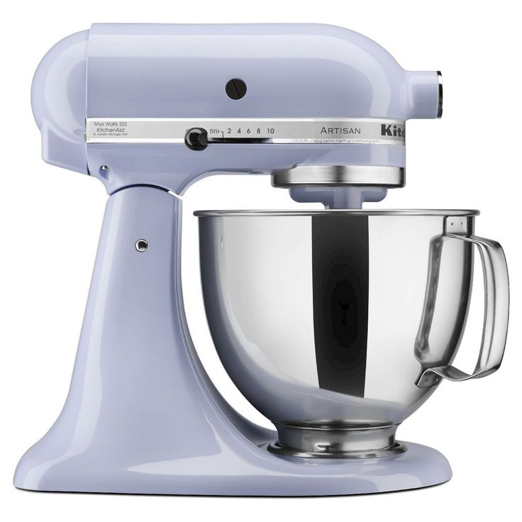 Kitchenaid artisan 5 qt stand mixer in lavender yes
