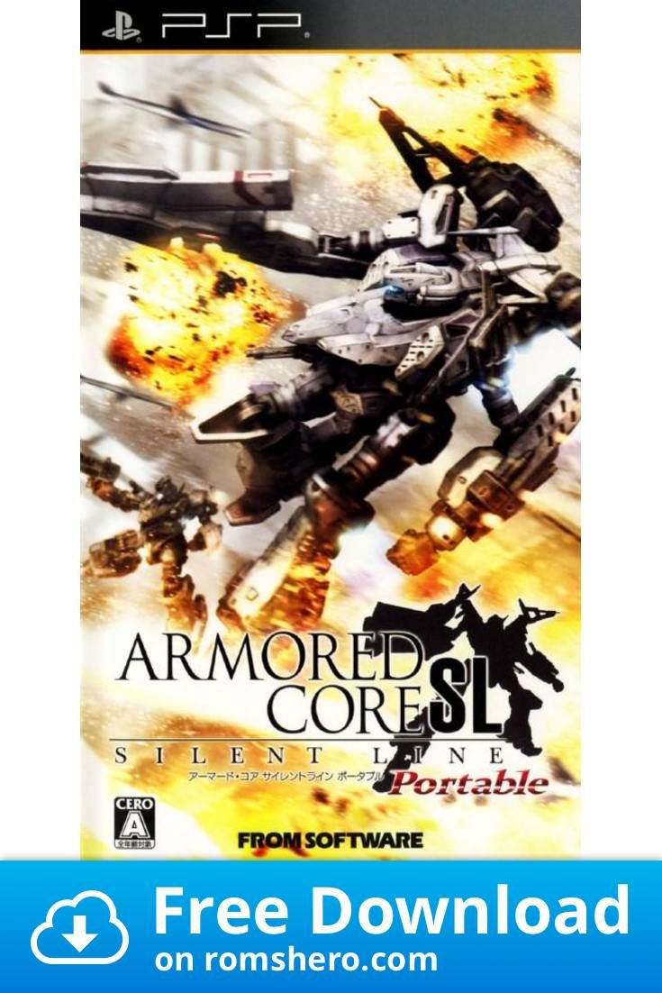 Download Armored Core Silent Line Portable Playstation Portable Psp Isos Rom In 2020 Playstation Portable Playstation Armored Core