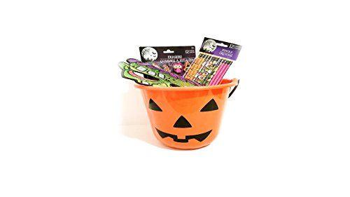 Halloween Candy Trick or Trick Bucket Halloween Pencil Halloween Erasers Halloween Mask (3 Frankens @ niftywarehouse.com #NiftyWarehouse #Geek #Horror #Creepy #Scary #Movies