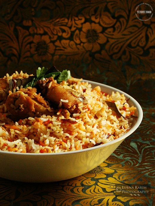 Authentic Hyderabadi Biryani Recipe, Mouth watering recipe, so delicious! i like to make mine extra spicy for a kick!!