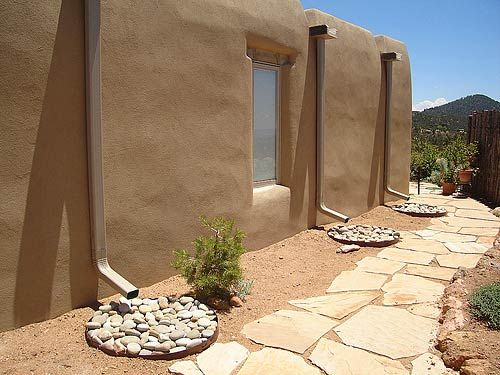 Gallery: Rainwater Harvesting | The RainCatcher, Santa Fe, NM | Providing rainwater catchment, irrigation systems, xeriscaping, permaculture design, water-wise landscaping, water recycling and erosion control.
