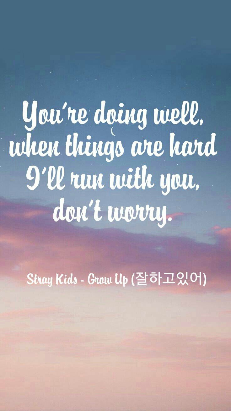 Straykids Grow Up 잘하고있어 Wallpaper Ctto Stray Kids In