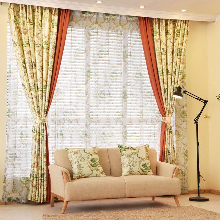 Оконные шторы для гостиной роскошные шторы плотные шторы дизайнер пользовательских шторы на окне,
