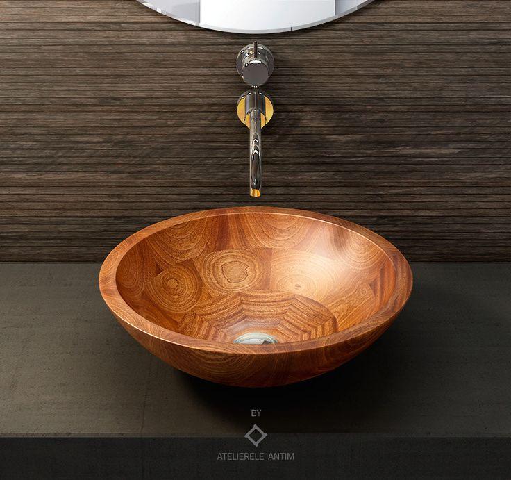 ASSIE #wooden #basin