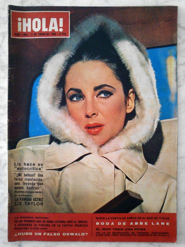 Elizabeth Taylor - Hola! Magazine Cover [Spain] (2 January 1965)