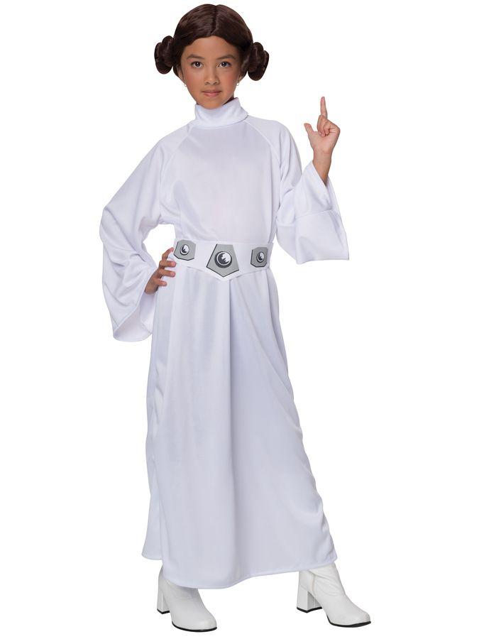 Prinsesse Leia Kostyme Barn