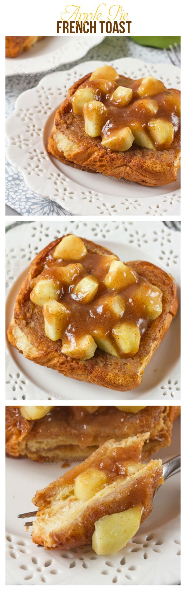 Apple Pie French Toast | Annie's Noms