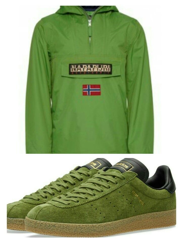 Topanga Clean Green is the go-to adiporn with the Napapijri jacket - a pair of black Edwins would complete the look perfectly