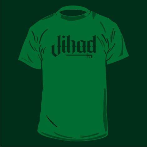 #design #tshirt #jihad #screenprinting #waterbased pre order