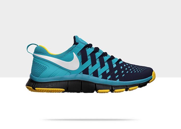Nike Free Trainer 5.0 N7 Men's Training Shoe // Blackend Blue/White-Dark
