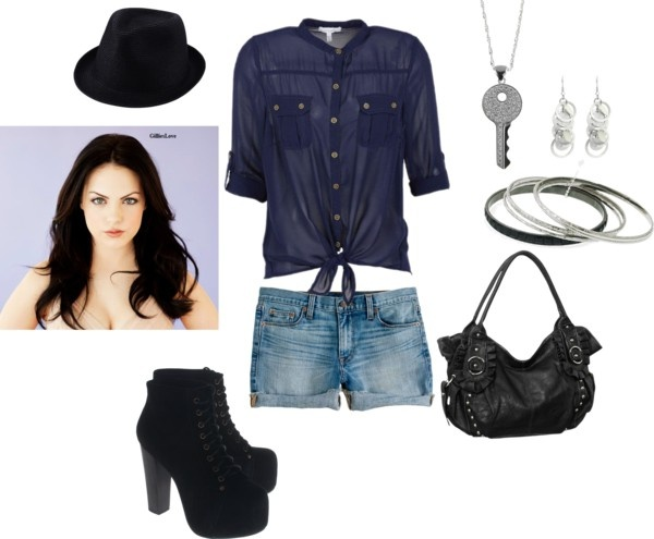 """""""Liz Gillies"""" by candelacristian ❤ liked on Polyvore"""